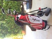 Power Bilt Junior Golf Clubs,  Left Handed