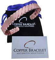 Copper Bracelet Twisted for Arthritis – Guaranteed 99.9% Pure Copper